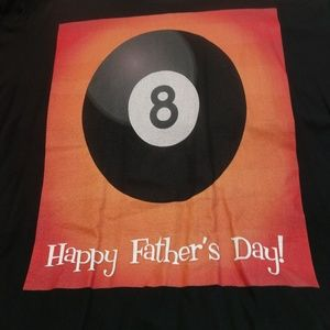 Anvil T-SHIRT Happy Father's Day XXL billiards